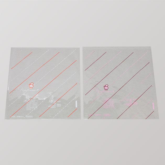 F002-雙色OPP平口袋 2